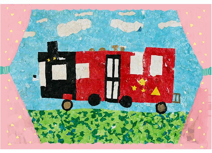 「機関車バス」平成10年度卒・24回生かき組
