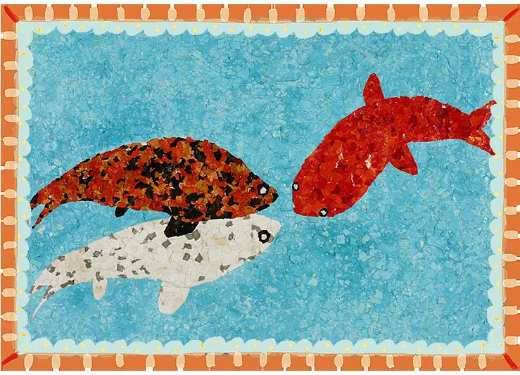 「池の鯉」平成13年度卒・27回生かき組