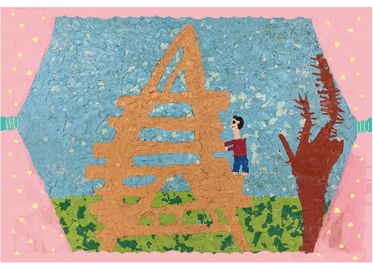 「三角丸太小屋」平成17年度卒・31回生かき組