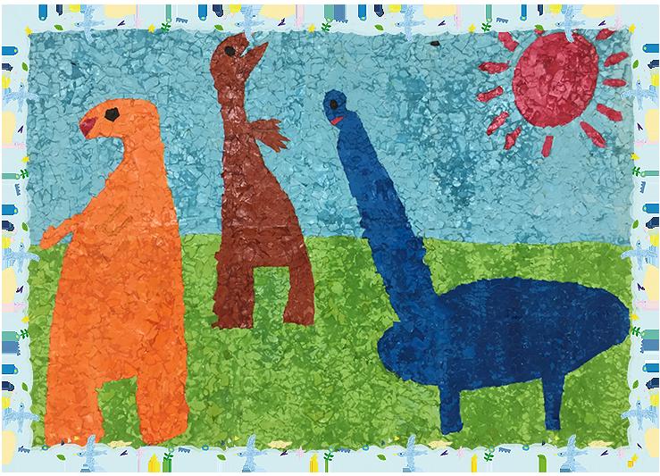 「恐竜の森」平成18年度卒・32回生くり組