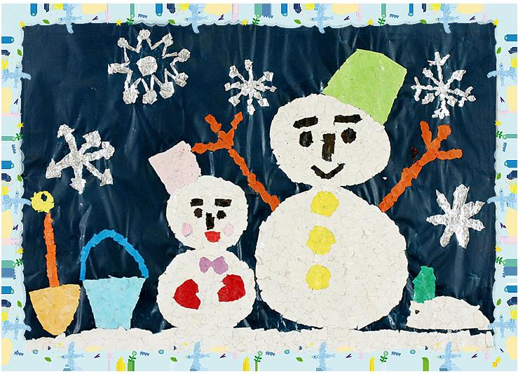 「雪だるま」平成9年度卒・23回生くり組
